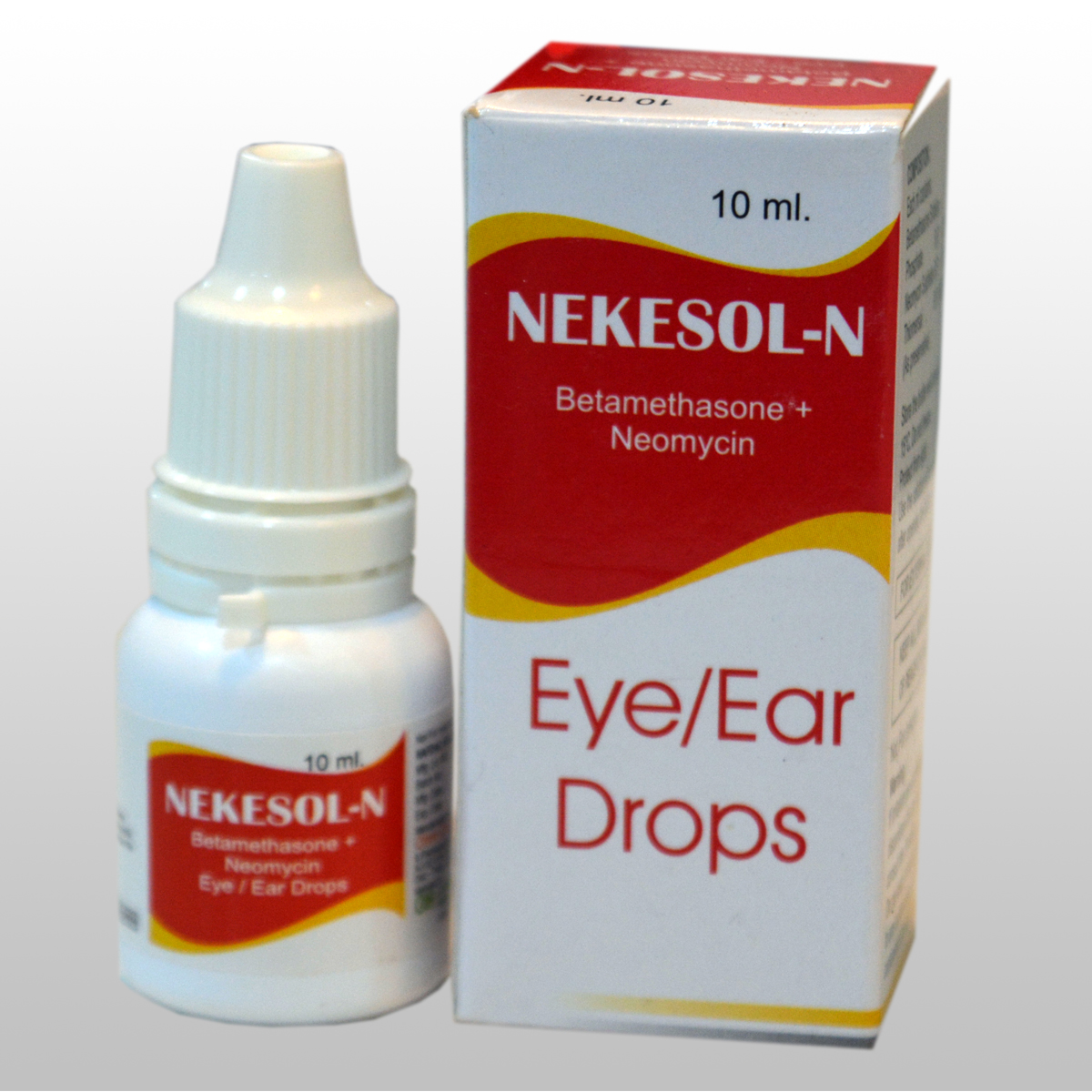 Betamethasone 0.1% w/v + Neomycin 0.5 % w/v  Eye/Ear drops