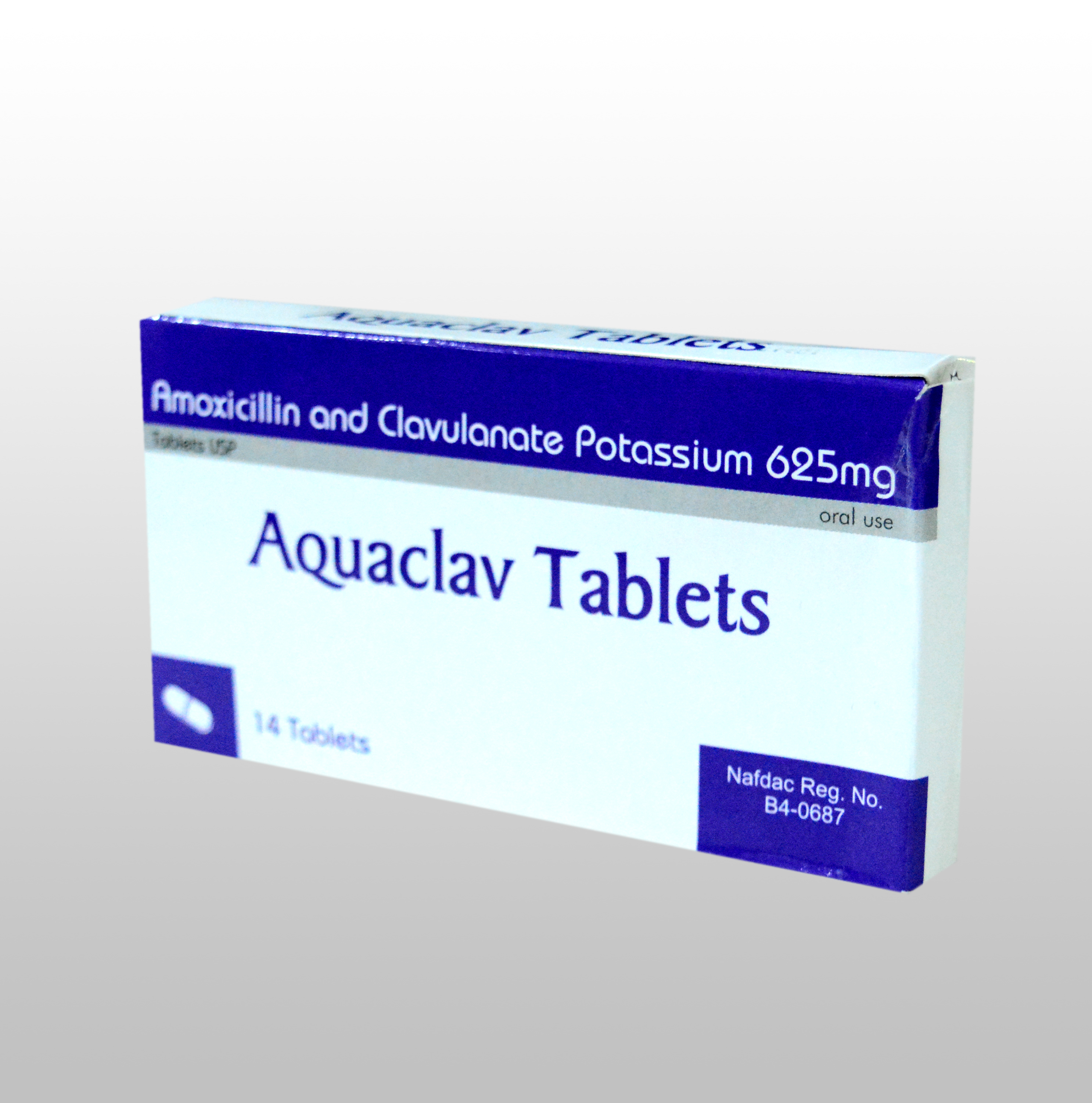 AMOXICILLIN & CLAVULANATE POTASSIUM TABLETS  USP  500 /125 mg