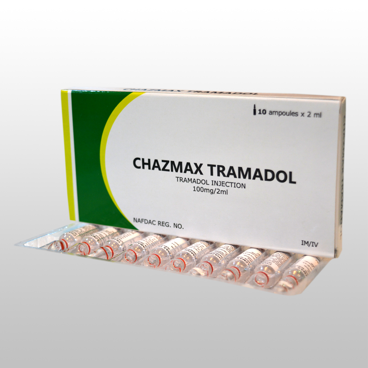 TRAMADOL INJECTION 100mg/2ml,