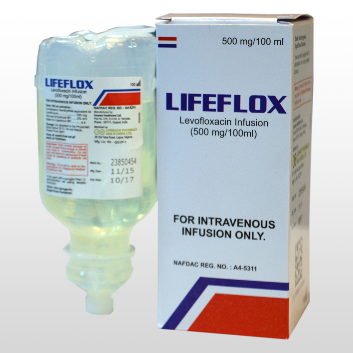 Livofloxacin Infusion (500mg/100ml)