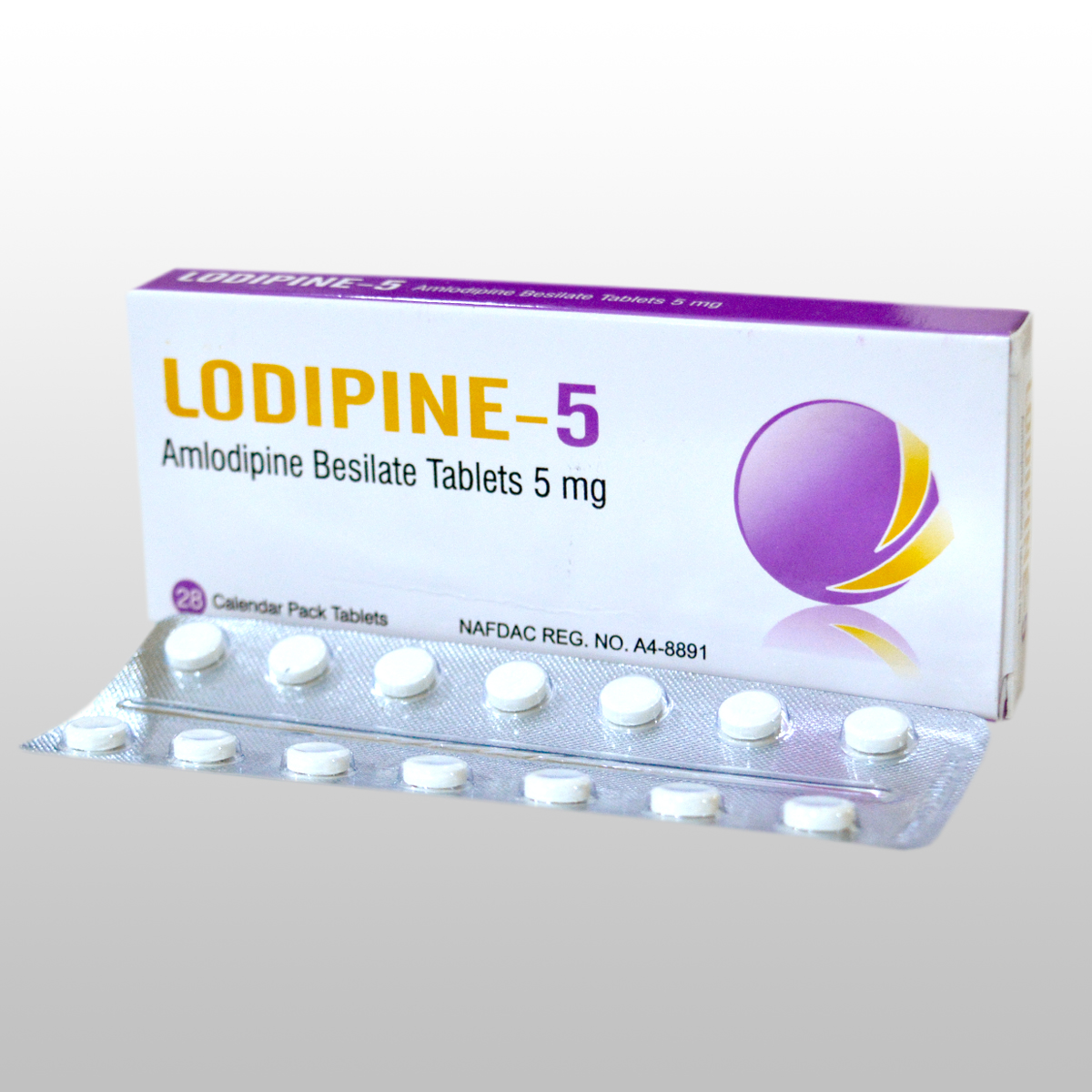 AMLODIPINE TABLETS 5mg