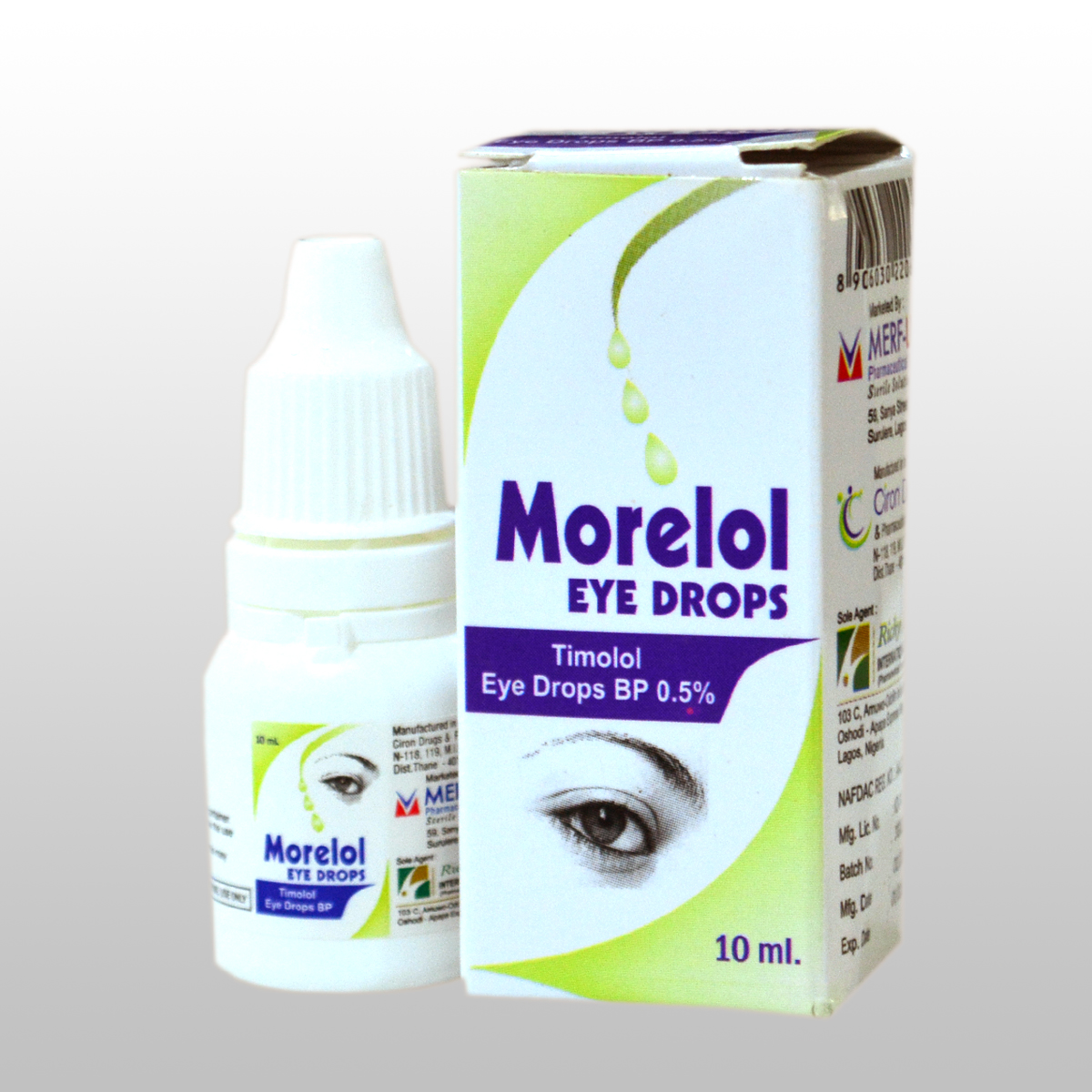 Timolol Eye drops  BP 0.5 %