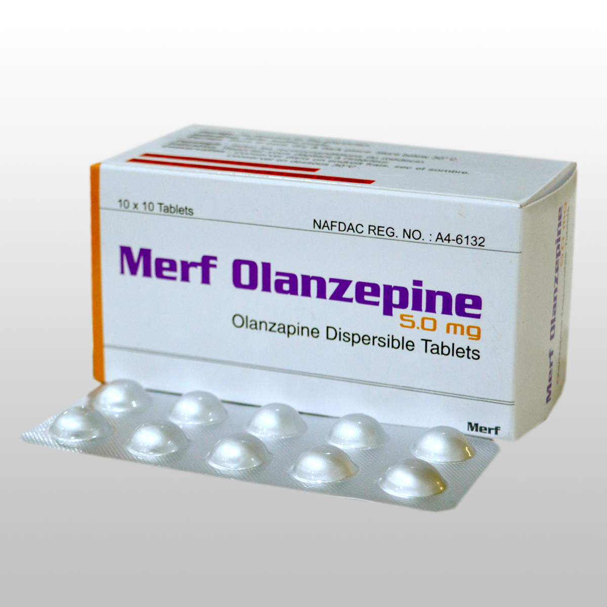 OLANZEPINE DISPERSIBLE TABLETS  5 mg